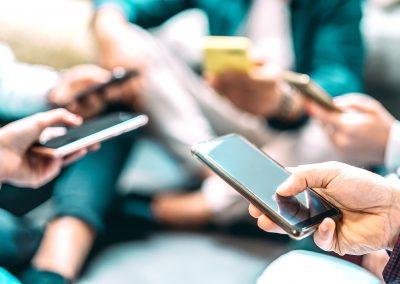 Tracking de Imagen y Posicionamiento y Ingeniería de Posicionamiento del mercado de telefonía móvil en Brasil, México y España.